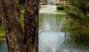 14c 7484 Patio view of lake and fountain