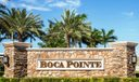 7484 boca pointe monument sign