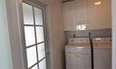Interior Laundry /Back entrance