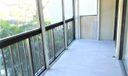 Large Screened Balcony