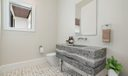 Staged Powder Room