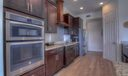 Granite & mahoghany kitchen