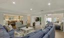 Living room/family room/kitchen