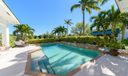 Sunny private pool