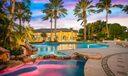 Pool twilight spa