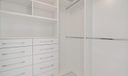 Built-In Master Closets