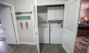 Convenient upstairs full laundry area