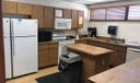 kitchen in clubhouose