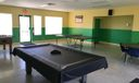 Separate game room available