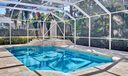 Screened heated pool