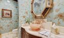 Half Bath - Onyx Floors & Vanity