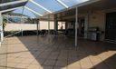 tiled screened patio