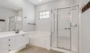 Separate Shower-Tub