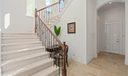 Cast Stone Stairway