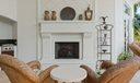 Cast Stone Gas Fireplace