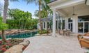 Oversized Marble Pool Deck