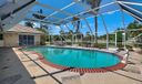 Screened Resort Style pool