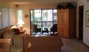 Living Area and Balcony