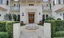 Front Entry w/fountain