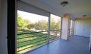 Balcony with storage