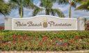 Palm Beach Plantation Entry