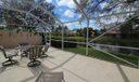 screen patio lake view