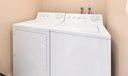 Laundry inside condo