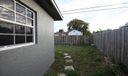 Side of House into Backyard