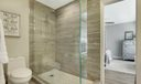 Master Bath Shower & Freestanding Tub