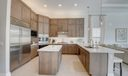 Large Open Kitchen & Island