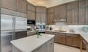 SS Appliances & Stacked  Cabinets