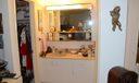 Bedroom Vanity with Walk in Closet