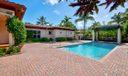 private pool and loggia