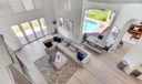 View of Family Room from Loft