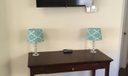 Flat Screen TV off Kitchen