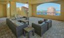 Rooftop Resort Pool Area