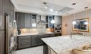 Large Granite Counter Perfect for Entert