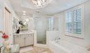 Spa Master Bathroom - Two Sinks