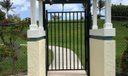 Private gate to Beach