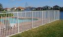 Fenced Pool Area.
