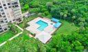 La Fontana 304 pool aerial
