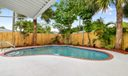 Pool and fenced yard