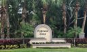 Cypress Cove - Sign