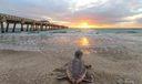 Juno Pier at Sunrise