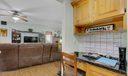 Built-In Desk in Kitchen