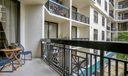 Large Corner Balcony