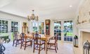 Dining Room French Doors to Intracoastal