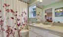 En-suite bath connected to 4th bedroom
