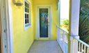 BALCONY PRIVACY DOOR INTO BEDROOM 2