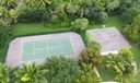 Overhead of Tennis & Basketball Courts